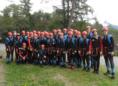 Canyoning Gruppenbild mit allen Teilnehmern