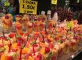 Obst in der Markthalle