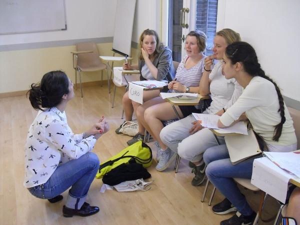 In der Sprachschule